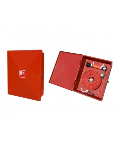 Fire hose cabinet GFK red (L500xW160xH650)