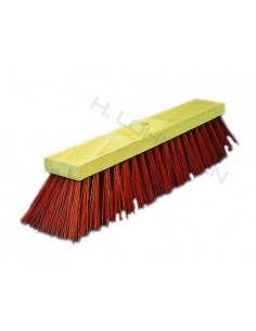 Broom PVC red 50 cm