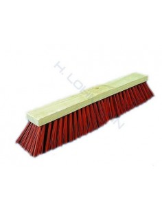 Broom PVC red 60 cm