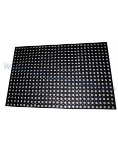 Rubber mat open hole 800x1200 mm