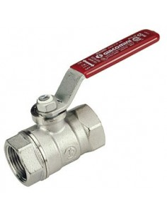 Ball valve, water (red)