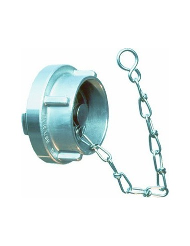 C52 Cap with chain, alu