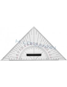 Triangle protractor 27cm