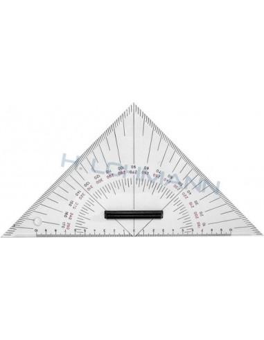 Triangle protractor 27cm