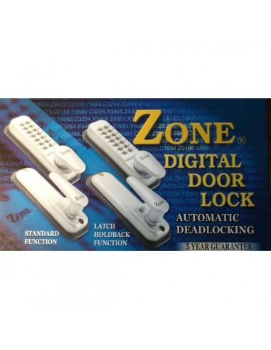 Digital door lock code