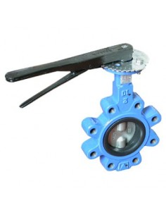 Butterfly valve, lug type, GGG40, NBR/EPDM, SS316, PN16