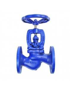 Stop valve, straight type, flanged, GG25, PN16