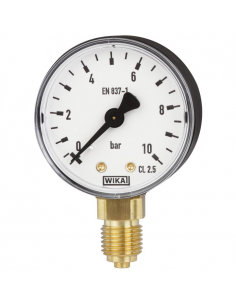 Manometer d160, bottom conn. G 1/2""