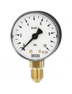 """Manometer d160, bottom conn. G 1/2"""""""