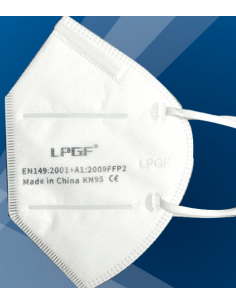 FFP2 respirator without valve