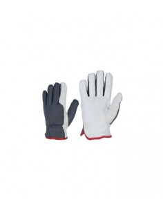 Gloves in nylon/smooth...