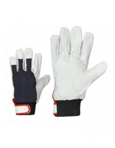 Goatskin gloves with velcro...
