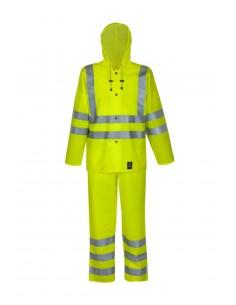 Waterproof warning suit...