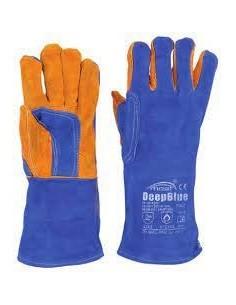 Welder gloves MOST DEEP BLUE