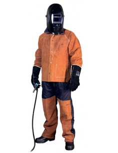 Welder leather suit MOST