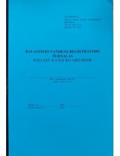 Ballast water log book