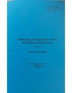 Oil Record Book, Part I...