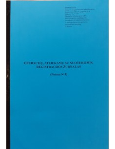 Waste water record book,...